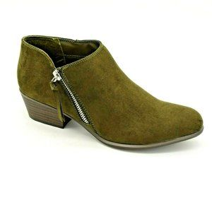 Esprit Women Troy Ankle Boot Olive NEW